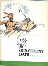 Old Colony Gin Poster and Mailer 1940's Indians... - $34.65