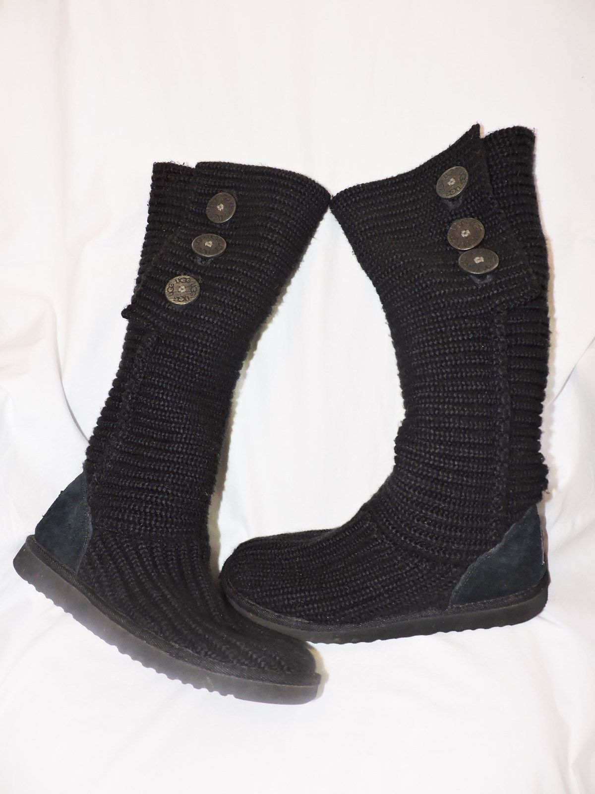 a98351e048c Black Knit Cardy Ugg Boots - cheap watches mgc-gas.com