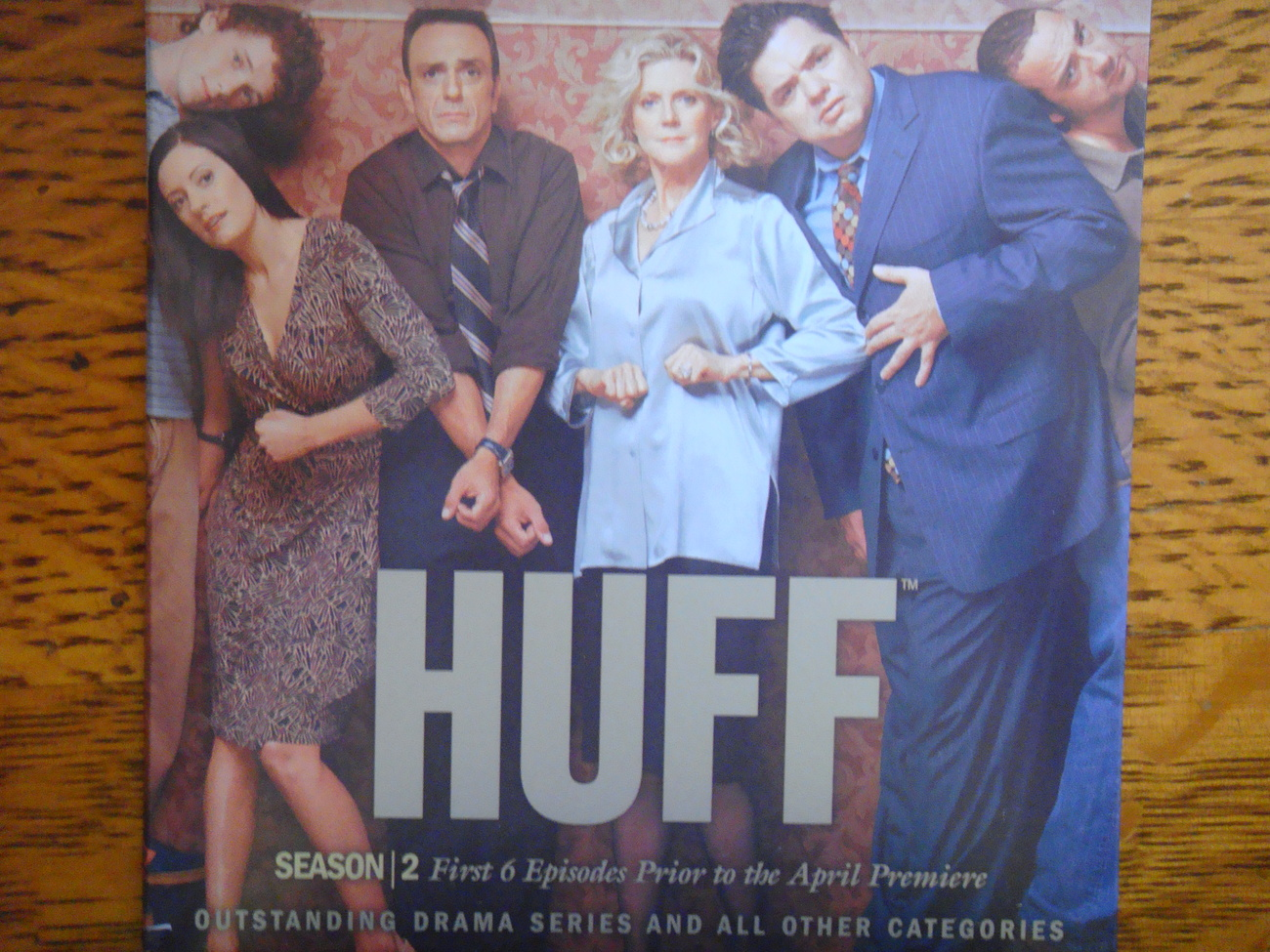 HUFF DVD 6episode SEASON 2 Hank Azaria Showtime emmy dvd