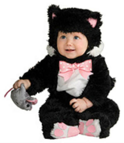 Rubie s inky black kitty noah s ark collection infant   toddler halloween 67161