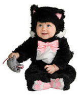 Rubie's Inky Black Kitty Noah's Ark Collection Infant & Toddler Hallowee... - £34.63 GBP