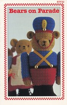 Bears on Parade, Annie's Attic Crochet Pattern ... - $5.95