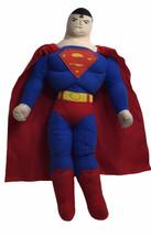 """DC Comics Justice League Superman Plush 16"""" Soft Body Toy Factory Figure - $19.75"""