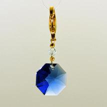 Crystal Octagon Zipper Pull image 6