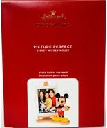 Hallmark  Picture Perfect  Disney Mickey Mouse  Photo  Keepsake Ornament... - $24.74
