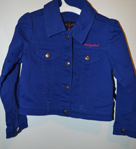 Baby Phat Girls Jacket  SIZE 4  NWT NEW  Blue with Pink  - $17.24