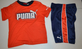 Puma Boys Toddler 2 Pcs Outfit Size 2 T Or 3 T Nwt - $16.46