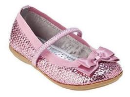 Toddler Girls Circo Ballerina Shoes Pink Sequin... - $10.49