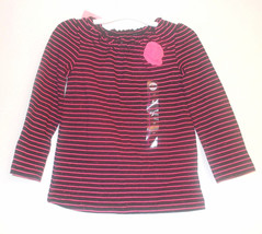 Circo GirlsToddler Top Long Sleeved Sizes 3T NWT Pink Stripped  - $4.79