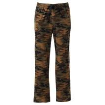 Croft & Barrow Men's  Camouflage Microfleece Lounge Pants Size M L or XL... - $17.99