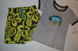 Carter's Playwear Toddler  Boys 2 Piece Shorts Set  Size 2T NWT Monkey  - $12.99