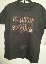 Nike Boys T Shirt Size S 6 Nwt Nothing But Awesome - $10.49+