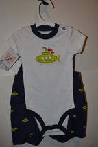 Carters  Infant  Boys 2  Piece Set  Size 3M NWT Submarine  - $8.44