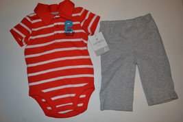 Carters  Infant  Boys 2 Piece Set  Size 6M NWT  - $12.99