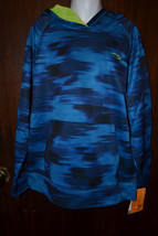 Champion  Hoodie Duo Dry Max Blues Size M 8 10 Nwt New  - $13.59