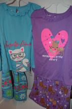 Joe Boxer Infant Toddler Girls Pajamas 2 Piece Set  Size 12 M 2T 3T 4T  NWT - $11.19