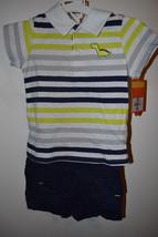 Carters  Infant  Boys 2 Piece Shorts Set  Size 6M 9M 12M  NWT Dinosour B... - $10.99+