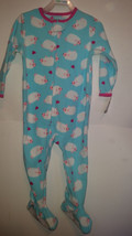 Child Of Mine Toddler Girl's Pajama One Piece Fleece Size 24M  NWT Sheep - $5.99