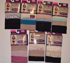 Fruiit of the Loom Select  Womens 3 pack Soft Moda High-Cuts  Varous Siz... - $11.19