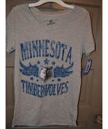 NBA Womens Minnesota Timberwolves T-Shirt  Varous Sizes NWT  - $15.99