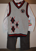 Disney Junior Mickey Mouse Club Toddler Boy's Jacket Shirt & Pants Size ... - $22.49