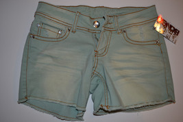 Womens Juniors BONGO  Size 3 NWT Jean Green - $13.99