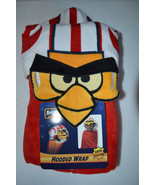 Angry Birds Luke Sywalker Hooded Wrap  Kids Beach Towel Bath NWT - $11.99