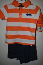 Carters  Infant  Boys 2 Piece Set  Size 6M 9M 18M  NWT  - $11.99