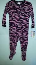 Garanimals Toddler Girl's Pajama One piece Fleece Size 24M 5T NWT Pink Z... - $7.99