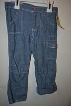 Cherokee Toddler Girls Light Blue Pant to Capri  Size 4T NWT - $9.79