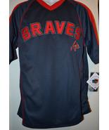 MLB Genuine Merchandise Atlanta Braves Baseball Mens  Jersey NWT S/M/L/X... - $23.99