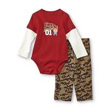 Little Wonders Infant Boy's Bodysuit & Sweatpants - Mommy's Tiger 12M NWT - $12.99
