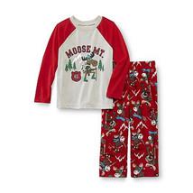 Joe Boxer Infant Toddler  Pajama Shirt & Pants Size  12M 4T NWT Moose MT. - $11.99