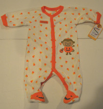 """Carter""""s  My First Halloween Pajamas Infant Size 3M   NWT  - $10.39"""