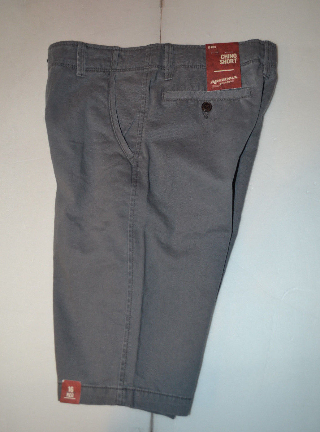 Cherokee® Boys/' Chino Shorts SIZE 12  NWT Picante Red