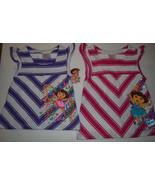 Nickelodeon Dora Explorer Top  Sizes 4 or 5 NWT Pink or Purple - $11.19