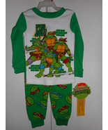 NickelodeonTeenage Mutant Turttles Infant Toddler Pajama Set Size18M 24M... - $10.39