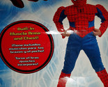 Marvel The Amazing Spiderman Child Costume Size Med 7-8 NWT Builtin Muscle Arm
