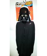 Star Wars Darth Vader Mask & Cape  Kids 6+  NWT - $14.99