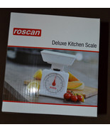 Roscan  Deluxe Kitchen Scale NIB - $8.24