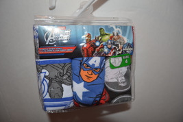 Marvel Avengers Assemble  Boys Briefs 3 Pack Sizes 4 or 6  NIP  - $7.99