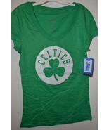 NBA Women Boston Celtics T-Shirt  Varous Sizes NWT Green Glittery - $15.99