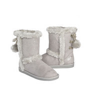Justice Girls / Womens Gray Winter Pull On  Boot  NWT Size 9 - $365,44 MXN