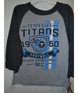 NFL TEAM  Boys Tennessee Titans Long Sleeve T Shirt  Various Sizes  NWT ... - $15.99