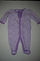 Child of Mine by Carter's Infant Baby Girls Pajamas  SIZE NB 0- 3 NWT Pu... - $5.99