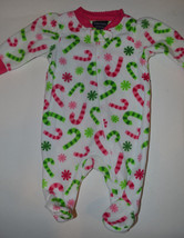 Faded Glory Infant Sleep Wear OnePiece Set  Size Premie or NB NWT Candy ... - $7.19