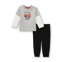 Little Wonders Newborn & Infant Boy's Graphic Shirt & Pants Various- Siz... - $9.74