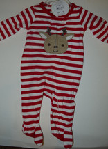 Child of Mine by Carter's Sleep Wear One Piece Christmas Set Size NB NWT... - $7.79