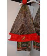 Duck Dynasty Christmas Santa Hat   Camo   Incudes Bonus Gift NWT - $12.79