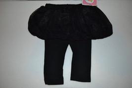 Circo Infant Girls Lace Skegging Leggings Skort Size -12M NWT Black - $7.47